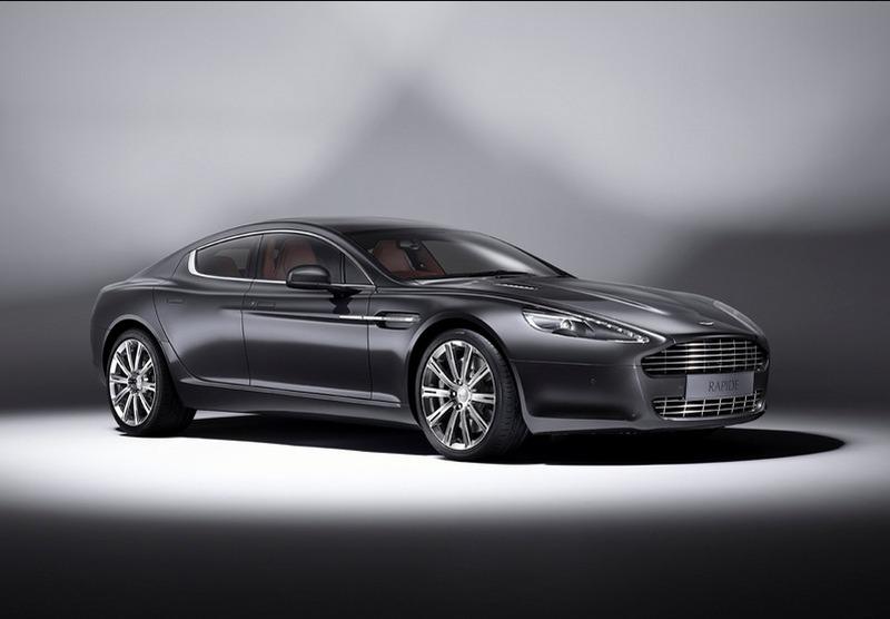 Aston Martin Rapide Luxe Breaks Cover - autoevolution