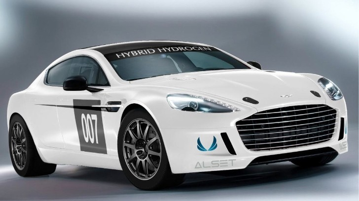 Aston Martin Rapide S - First Hidrogen Powered Racecar