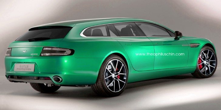 Aston Martin Rapide S Gets Turned into Shooting Brake
