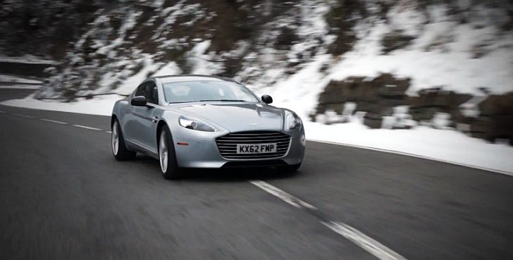Aston Martin Releases New Rapide S Footage [Video]