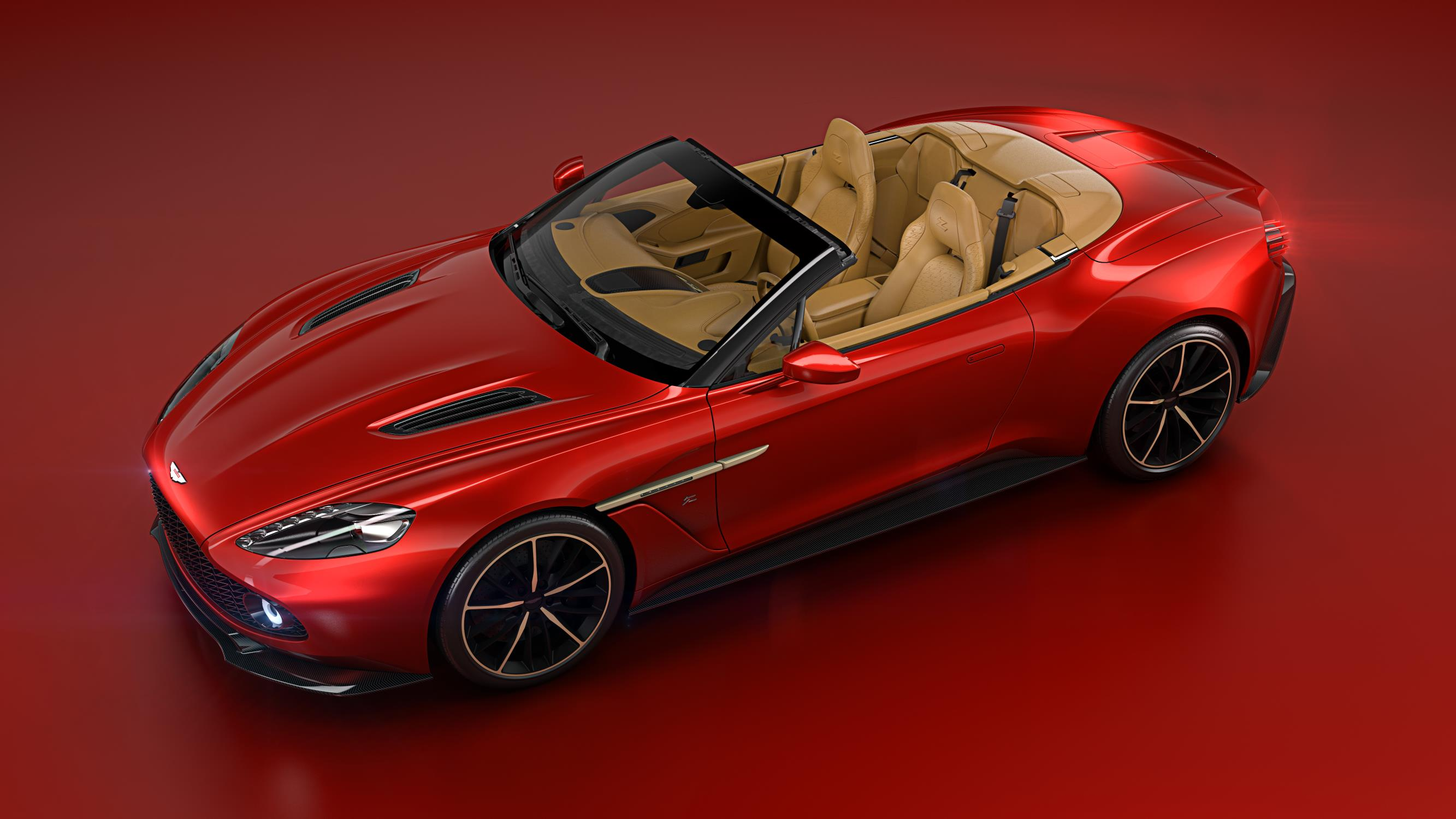 Aston Martin Reveals Vanquish Zagato Convertible For Pebble Beach - Convertible aston martin