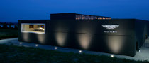 Aston Martin Test Center at Nurburgring Wins Design Award