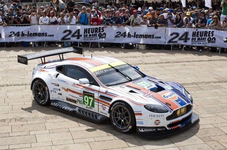 Aston Martin Unveils Fan-Designed Le Mans Race Car