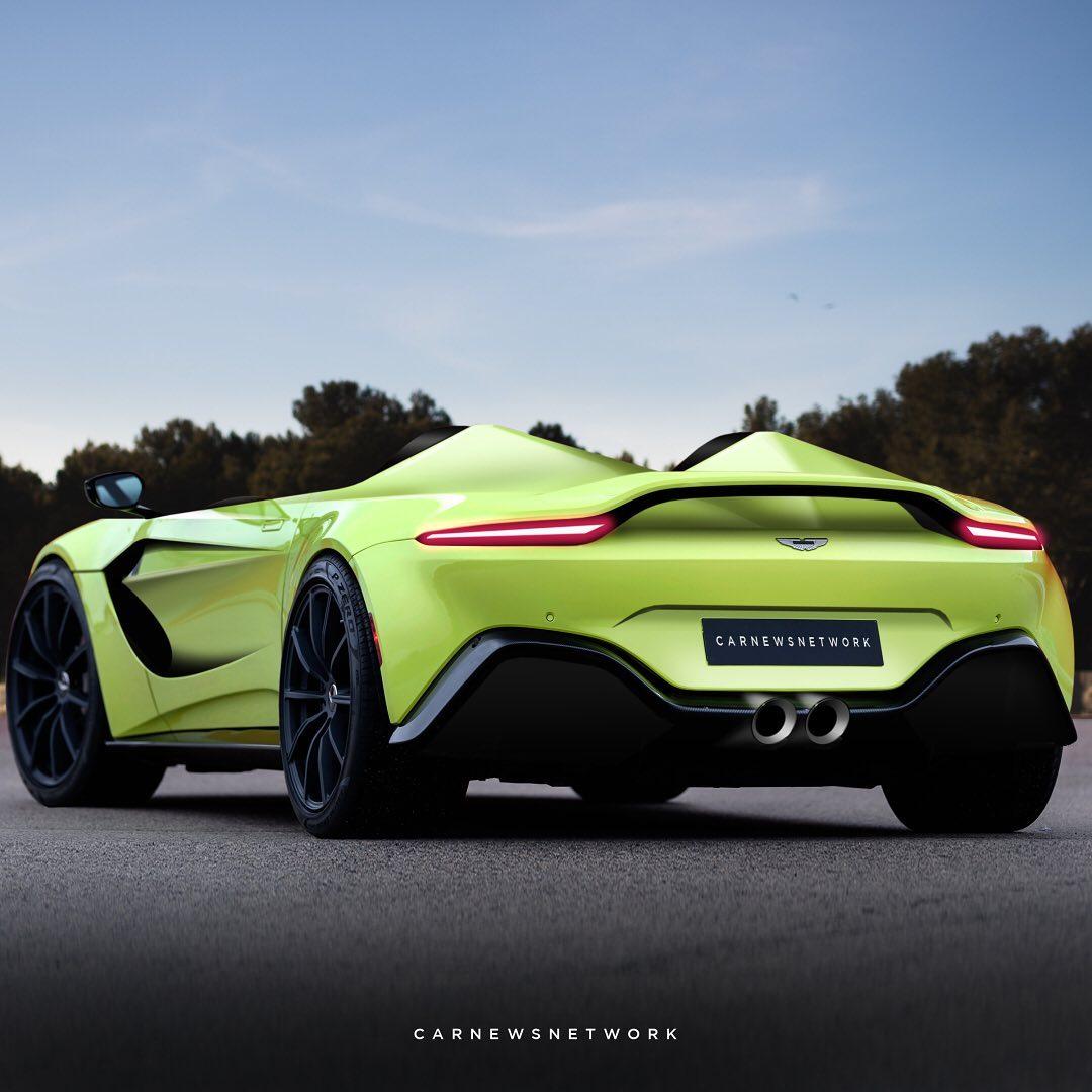 Aston Martin V12 Speedster Rendered Based On Leaked Sketches Looks Spot On Autoevolution