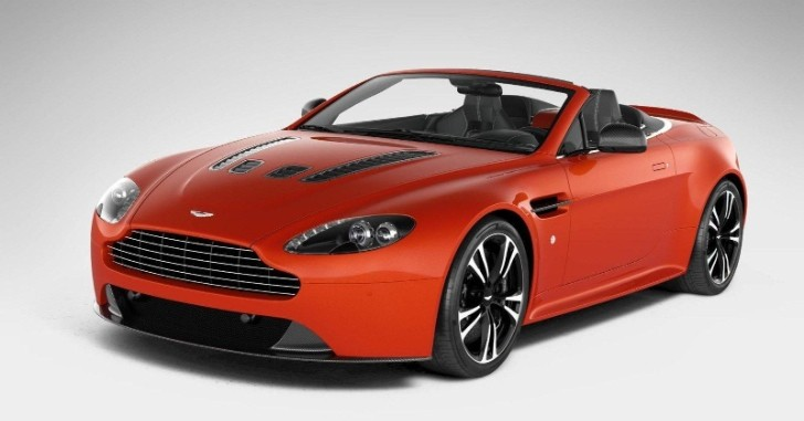 Aston Martin V12 Vantage Roadster Surfaces [Photo Gallery]