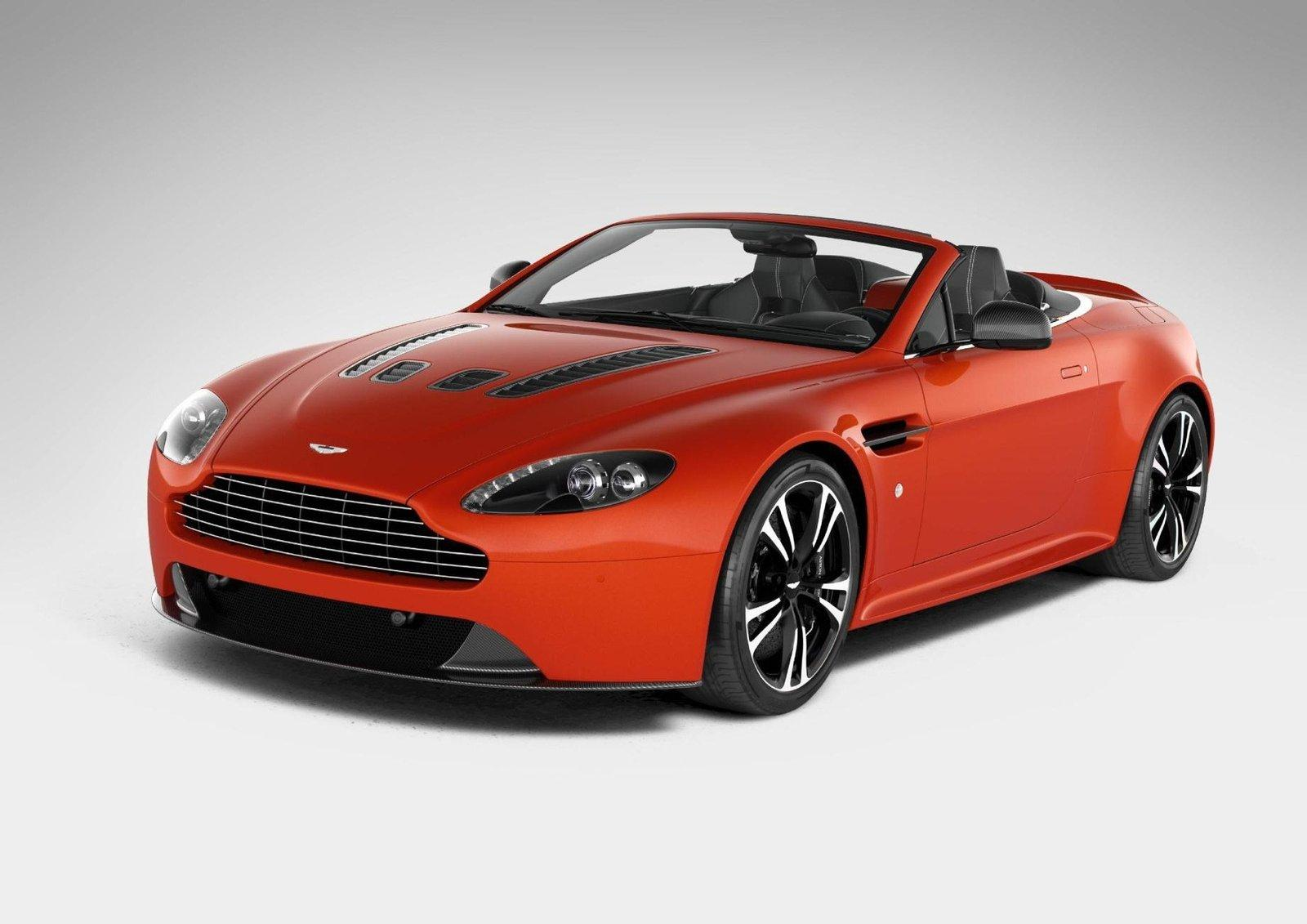 Aston Martin V12 Vantage Roadster Surfaces Autoevolution