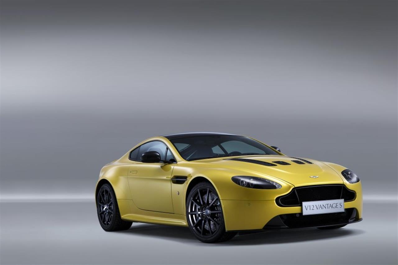 aston martin v12 vantage s finally revealed - autoevolution