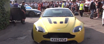 Aston Martin V12 Vantage S Makes Dynamic Debut [Video]