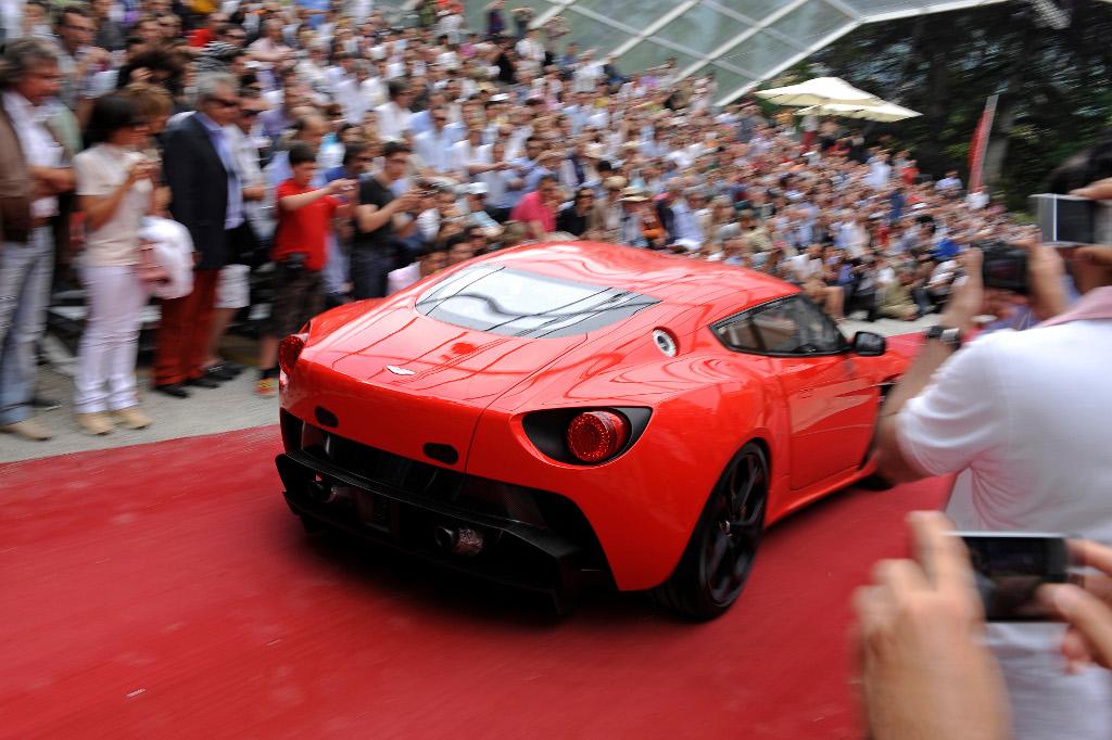 Aston Martin V12 Zagato Makes Its Engine Heard Autoevolution