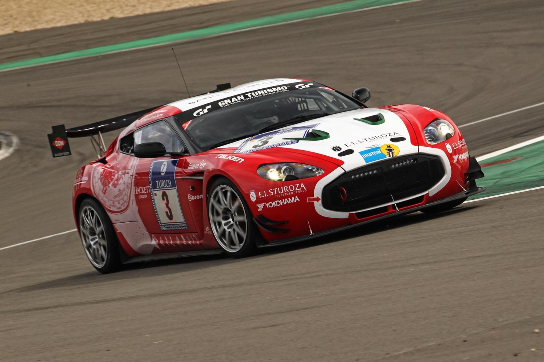 Aston Martin V Zagato Racer To Show Up At Goodwood Autoevolution - Aston martin v12 zagato