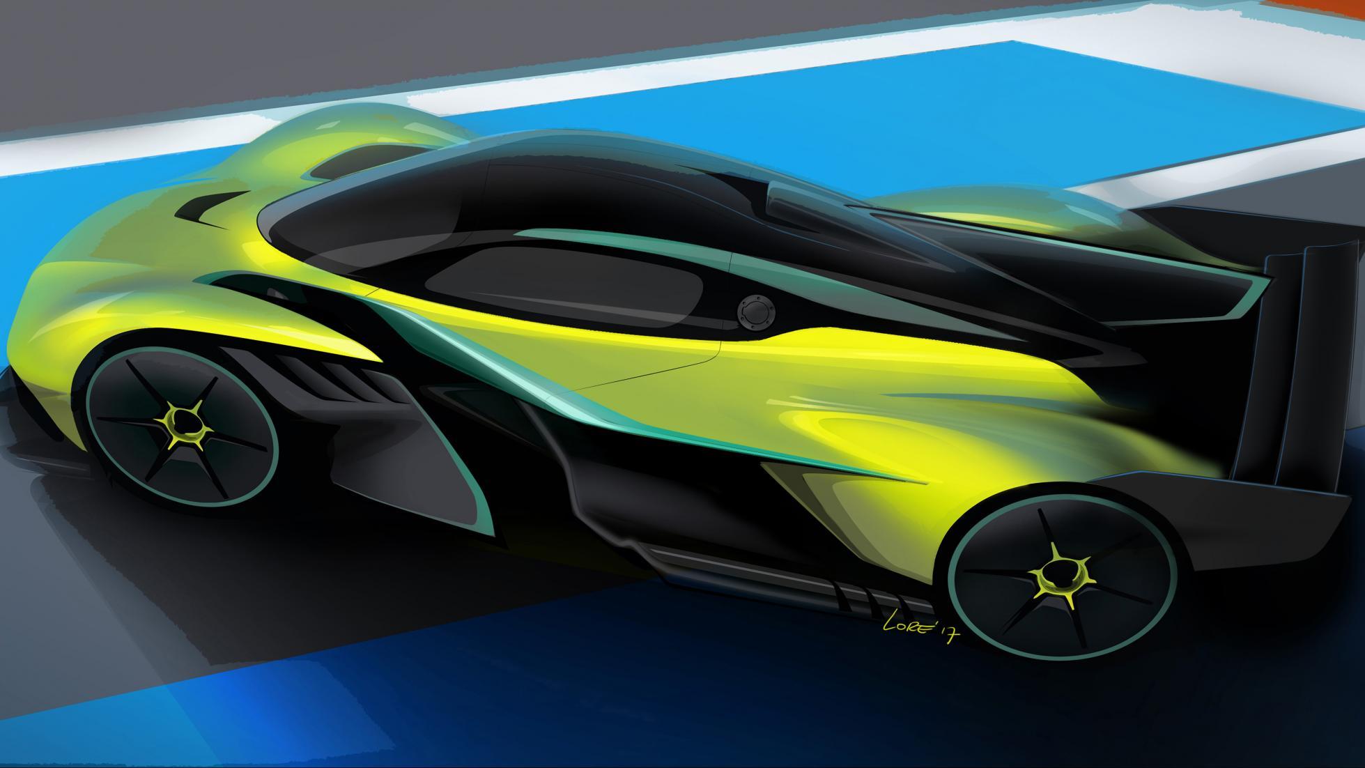 Aston Martin Valkyrie AMR Pro track auto revealed