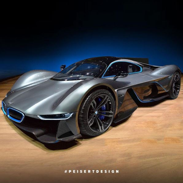 Aston Martin Valkyrie Sport: Aston Martin Valkyrie Gets BMW I8 Face In This Absurdly