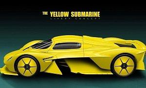 "Aston Martin Valkyrie ""Yellow Submarine"" Is a Stunning Livery"