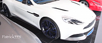 Aston Martin Vanquish by Q Has Stunning Blue Interior [Video]
