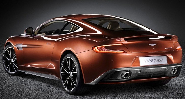 Aston Martin Vanquish Photos and Details Leaked