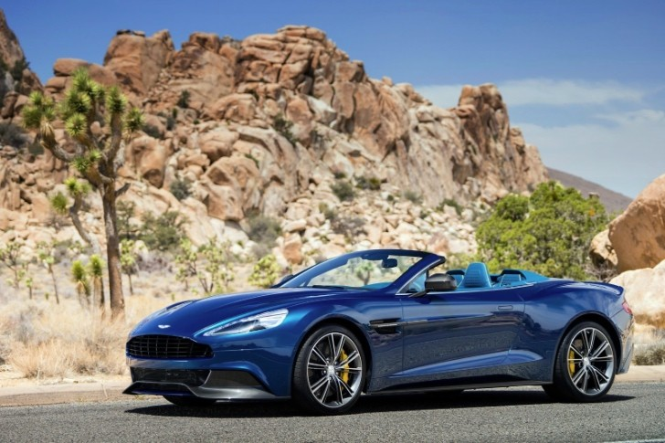 Aston Martin Vanquish Volante Unveiled [Photo Gallery]