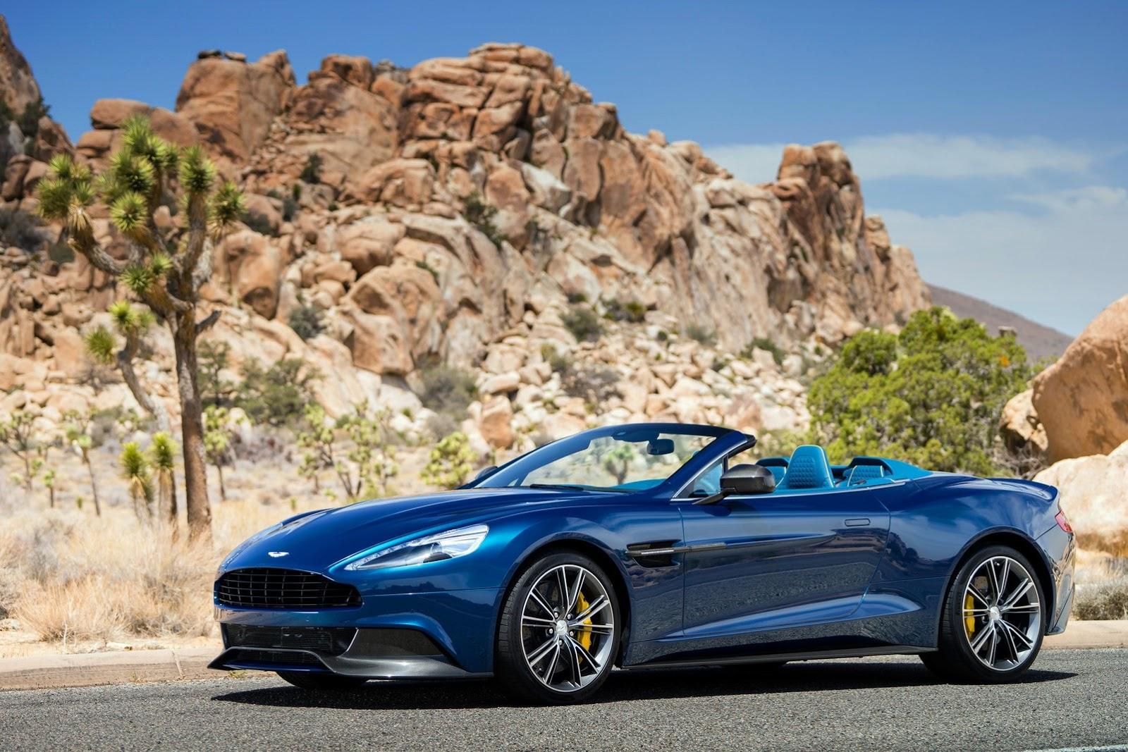 Aston Martin Vanquish Volante Unveiled Autoevolution - Aston martin vanquish volante