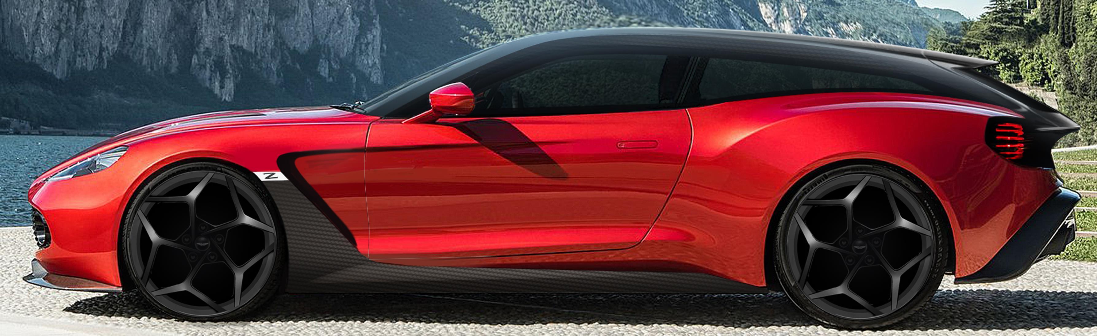 Aston Martin Vanquish Zagato Shooting Brake Joins Speedster Volante Coupe Autoevolution