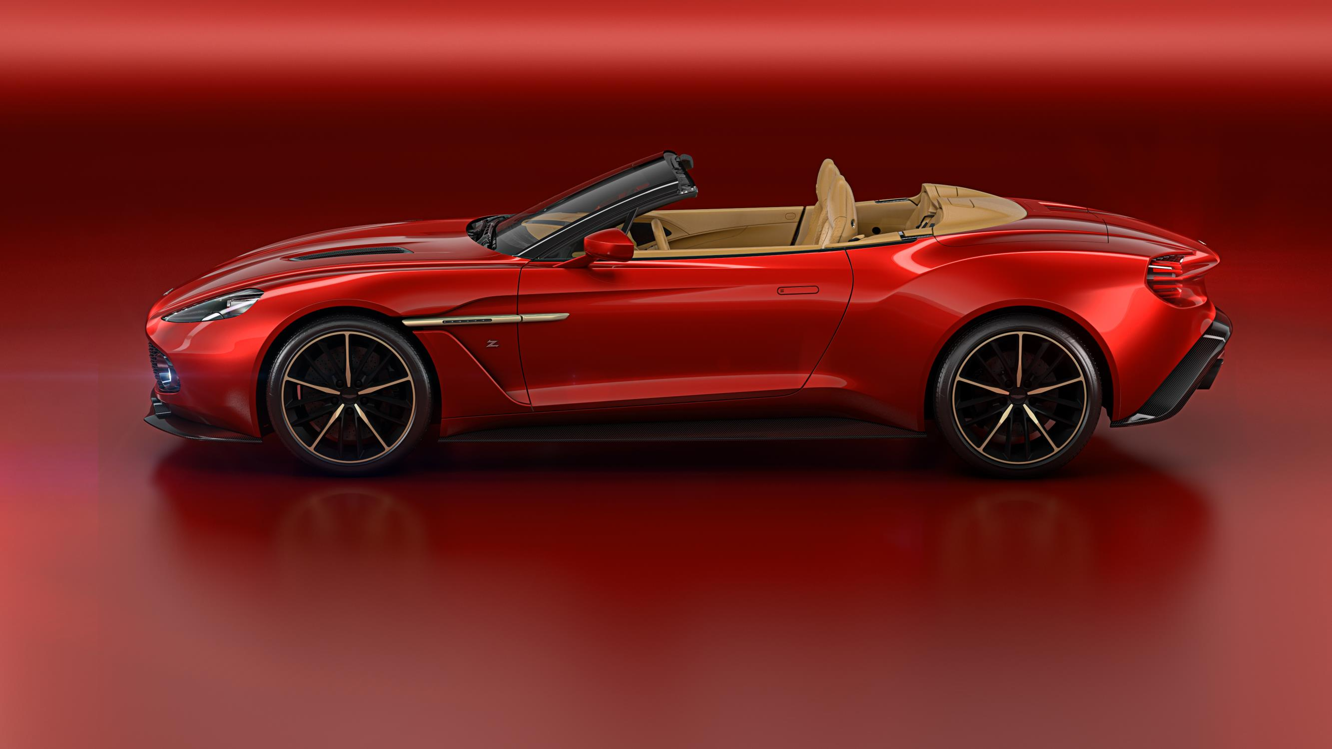Aston Martin Vanquish Zagato Volante Reportedly Priced From - New aston martin zagato