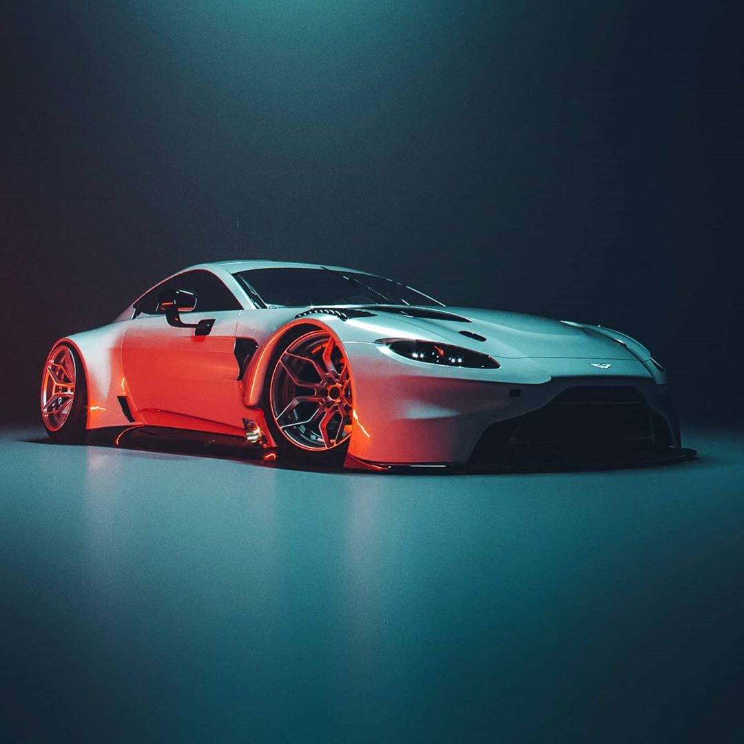 Aston Martin Vantage GT3 Road Car Rendered, Shows Clean