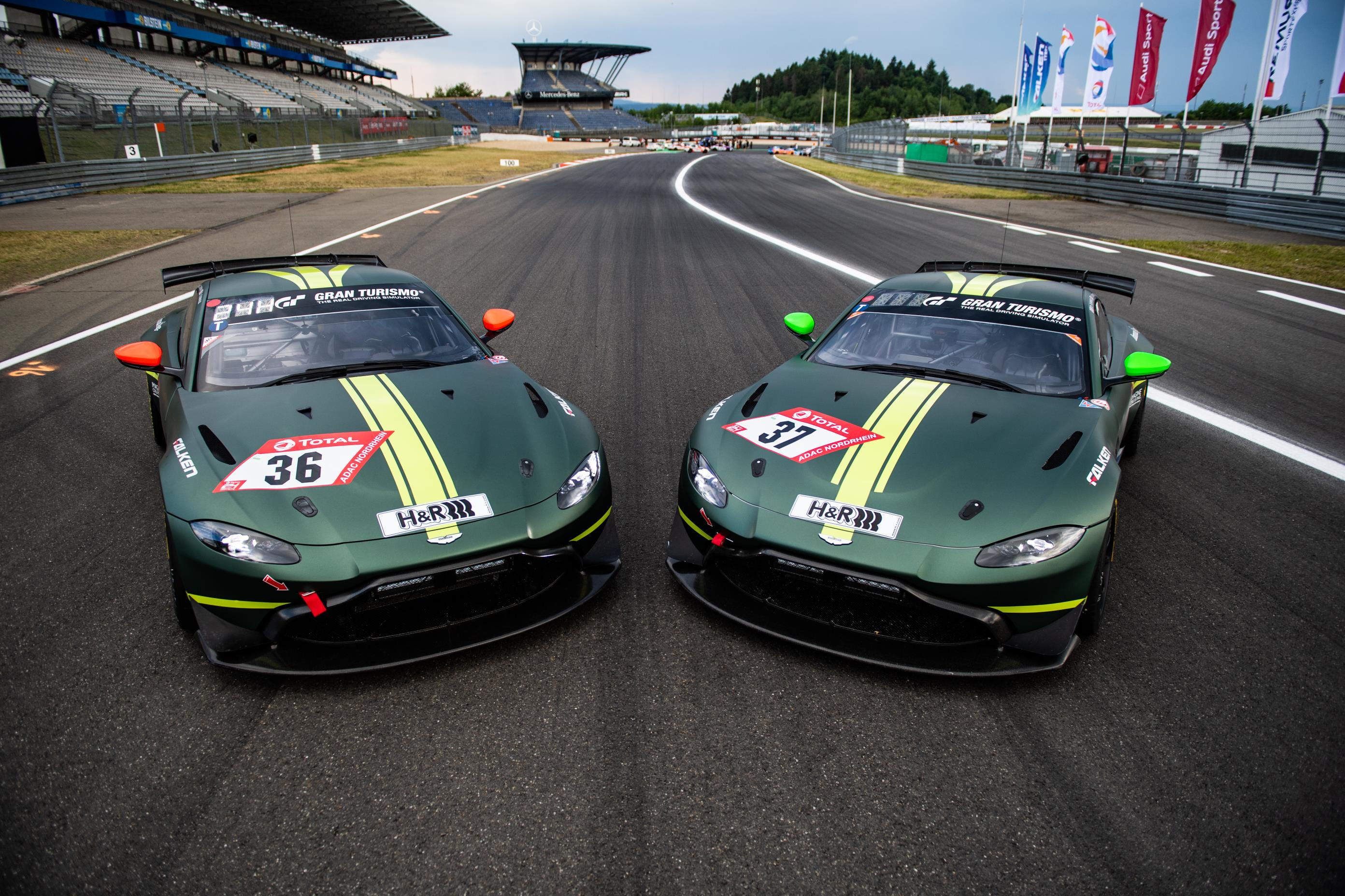 Aston Martin Vantage Gt4 To Race At The Nurburgring 24h Autoevolution