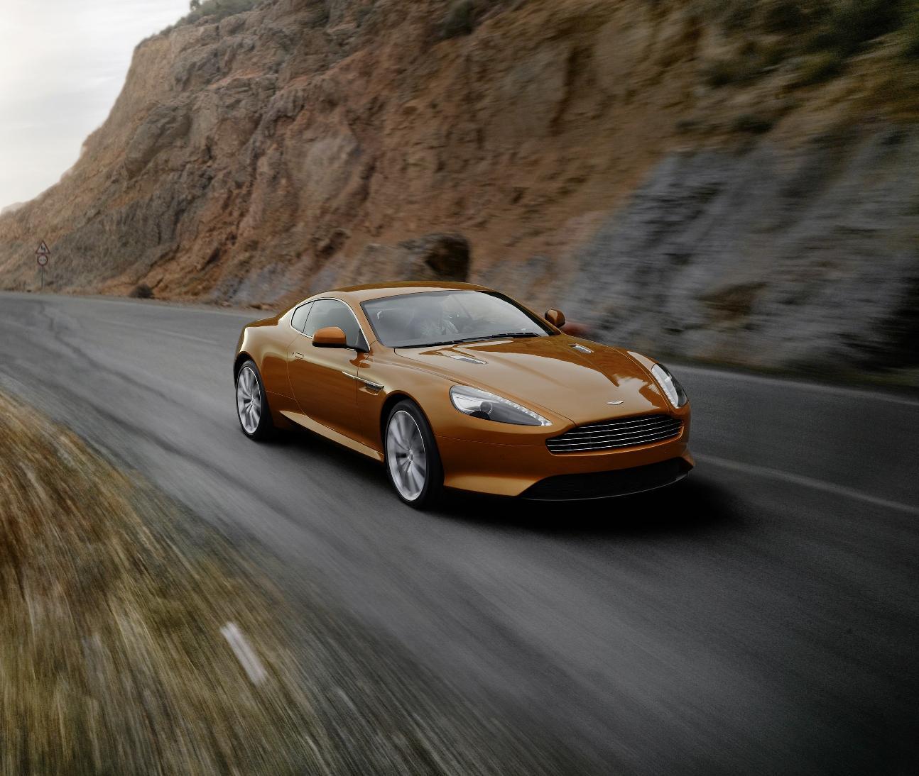 Aston Martin Virage Old: Aston Martin Virage UK Debut To Take Place At Salon Prive
