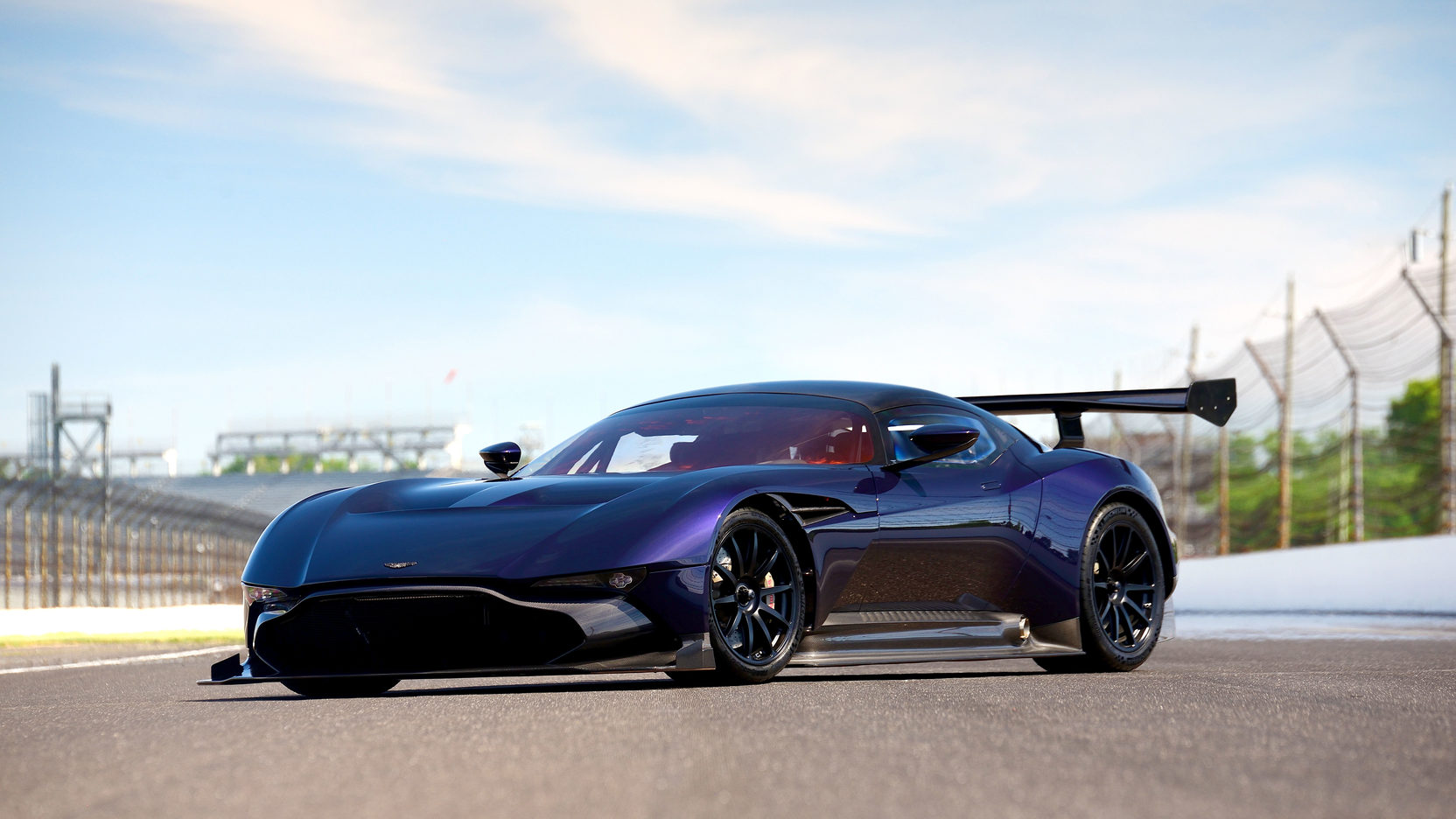 aston martin vulcan track-only supercar heading to auction