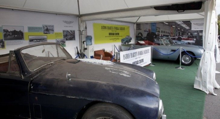 Aston Martin Works to Bring Revived DB5 to Goodwood