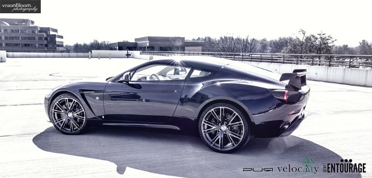 Aston Martin Zagato Gets New Set of PUR Wheels