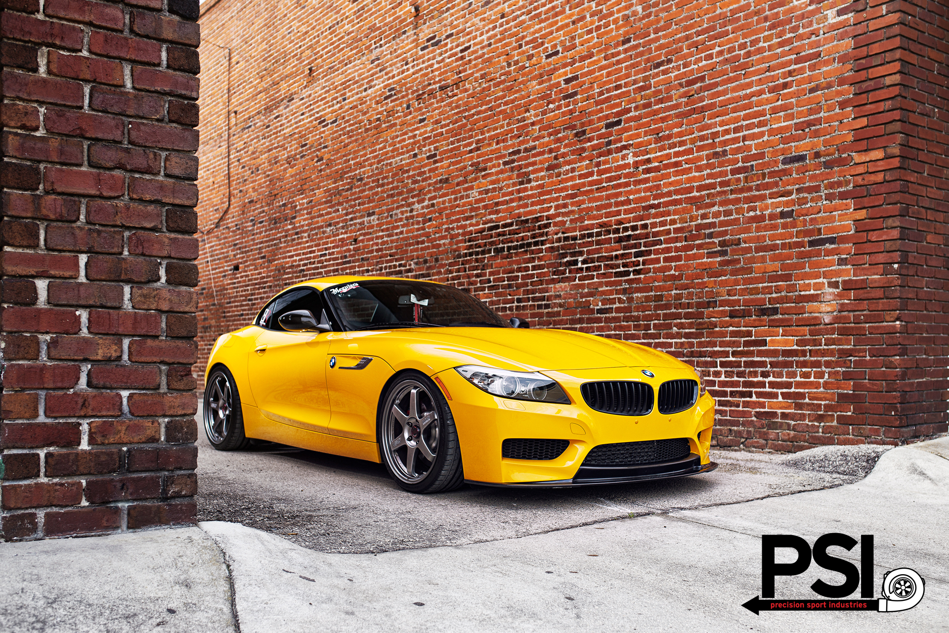 atacama yellow bmw e89 z4 by psi autoevolution. Black Bedroom Furniture Sets. Home Design Ideas