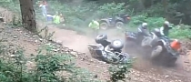 ATV Crash Looks Really Bad, Rider Luckily Alright [Video]