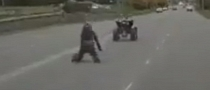 ATV Runs From Rider After Failed Wheelie [Video]