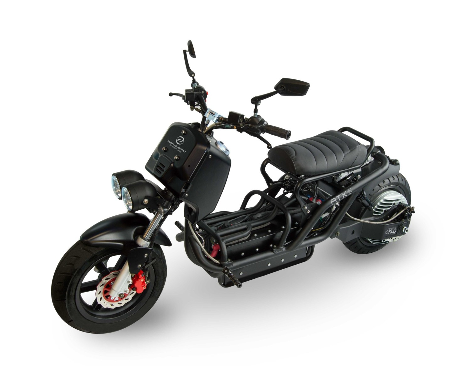 atx 8080 the ruckus looks rugged electric scooter   autoevolution