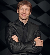 Trulli wearing the wristwatch