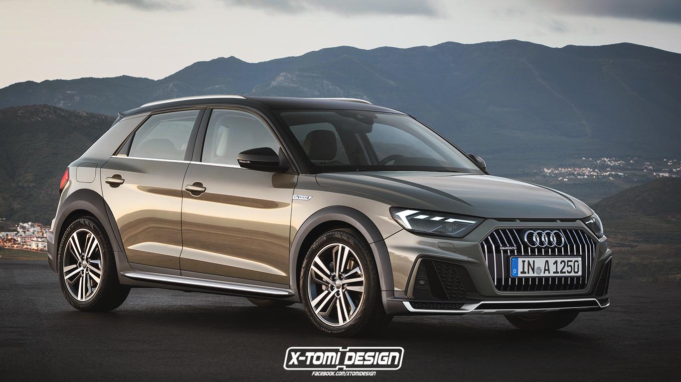 Audi A1 Allroad Quattro Looks Like A Lifestyle Hatch Autoevolution