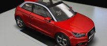 Audi A1 in 3D Available Via MagicSymbol Software