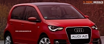 Audi A2 Rendering Takes City Car Up!-market
