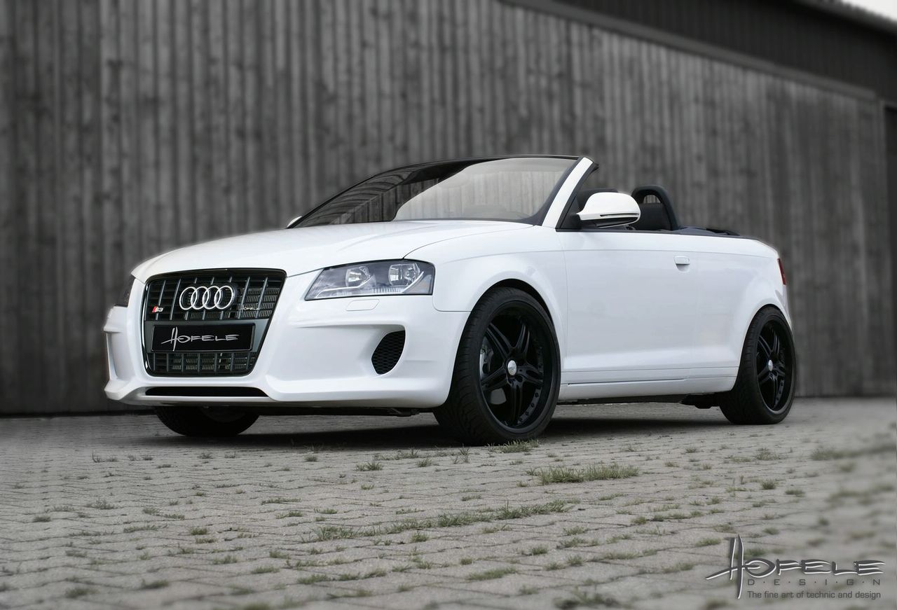 Audi A3 Cabrio Restyled By Hofele Autoevolution