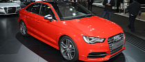 Audi A3 e-tron and S3 Debut at LA Auto Show [Live Photos]