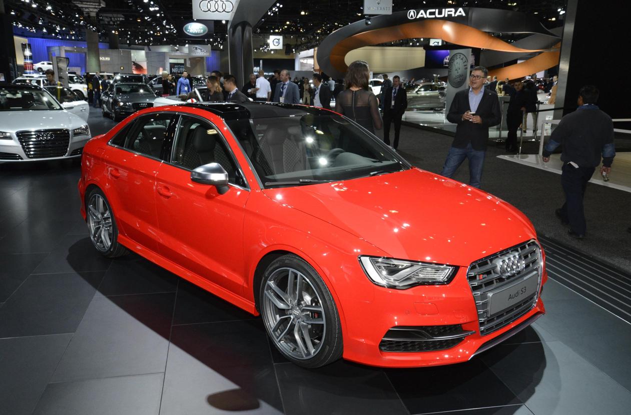 Audi A3 E Tron And S3 Debut At La Auto Show Live Photos
