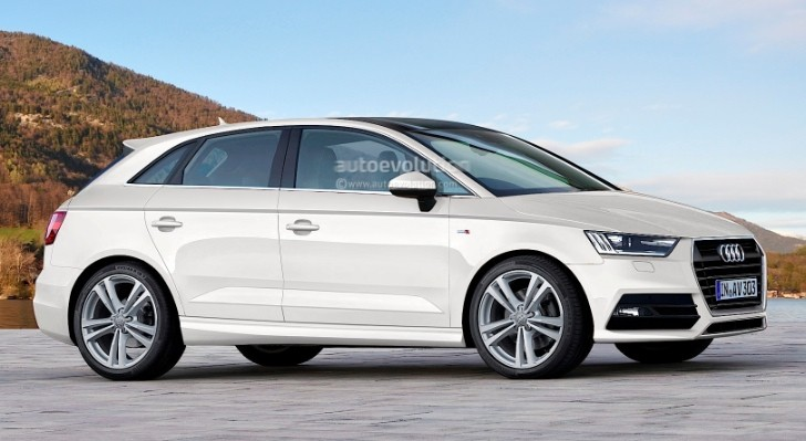 Audi A3 Vario MPV Rendered