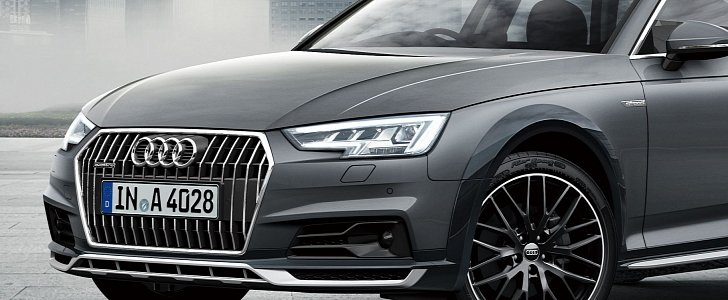 "Audi A4 allroad ""absolute"" Has Piano Black Cladding in Japan"