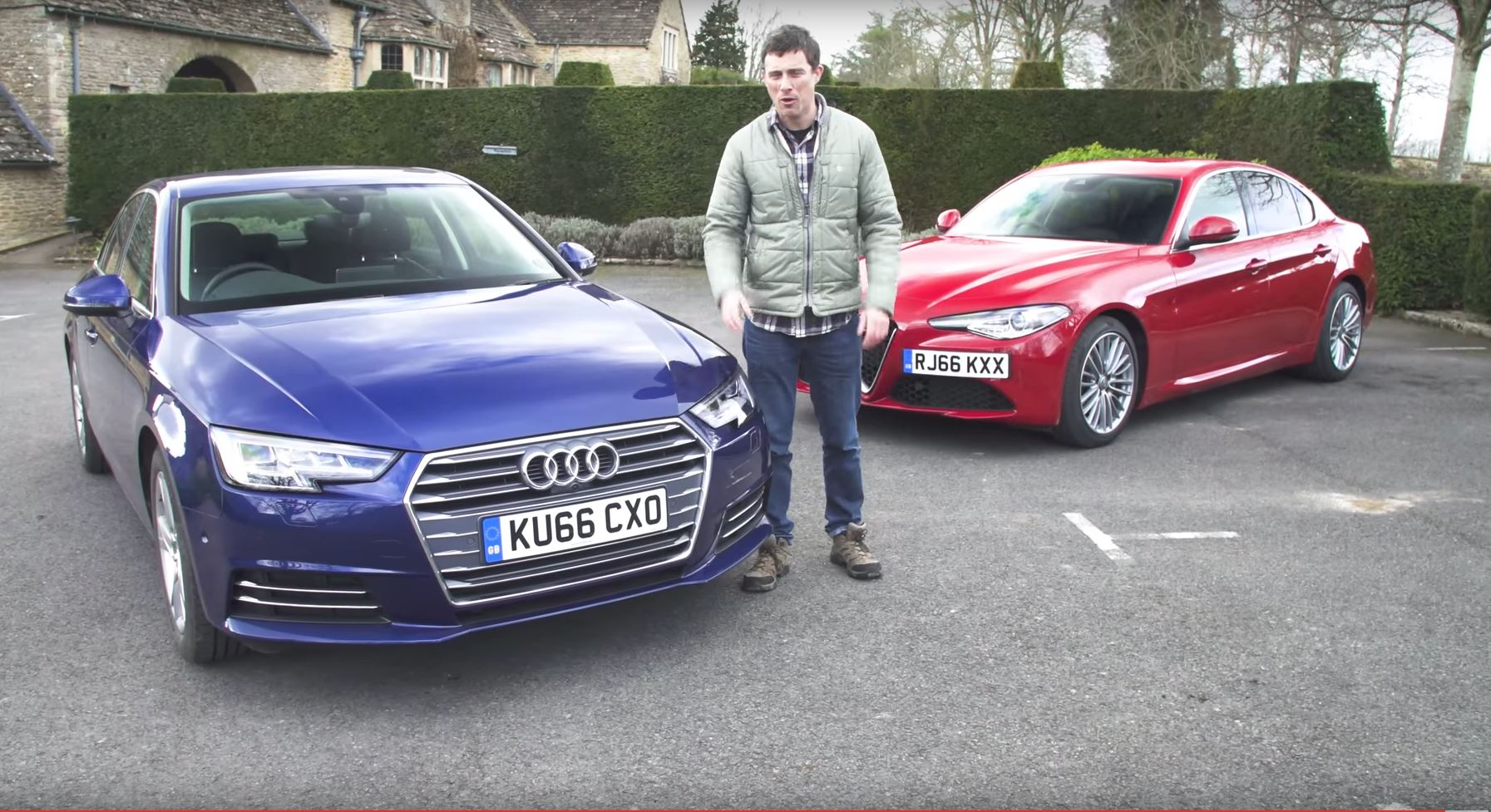 Audi And Alfa Romeo Giulia Compete To See Who S The Best