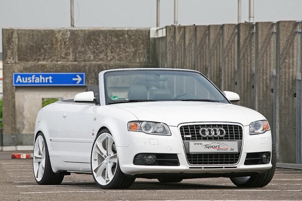 Audi A4 Cabrio Tuned By Sport Wheels Autoevolution