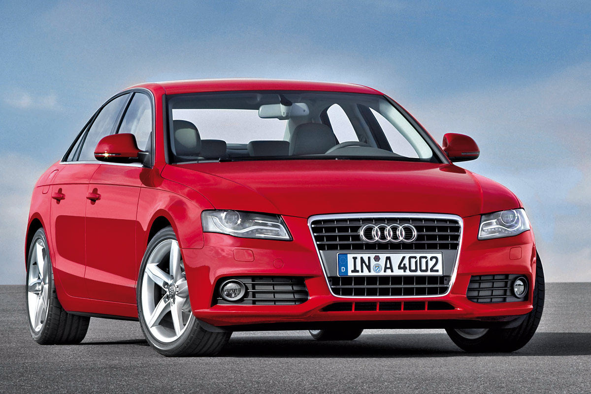 The Latest Generation Of The Audi A4