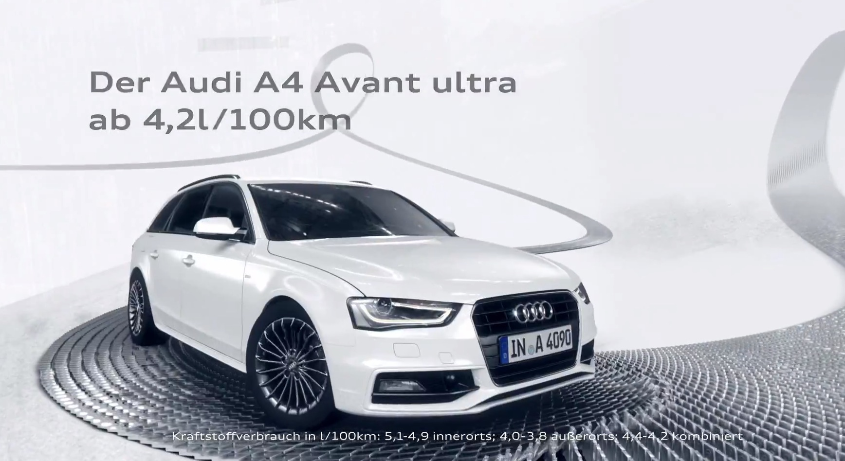 Audi A4 Ultra Commercial Domino Autoevolution