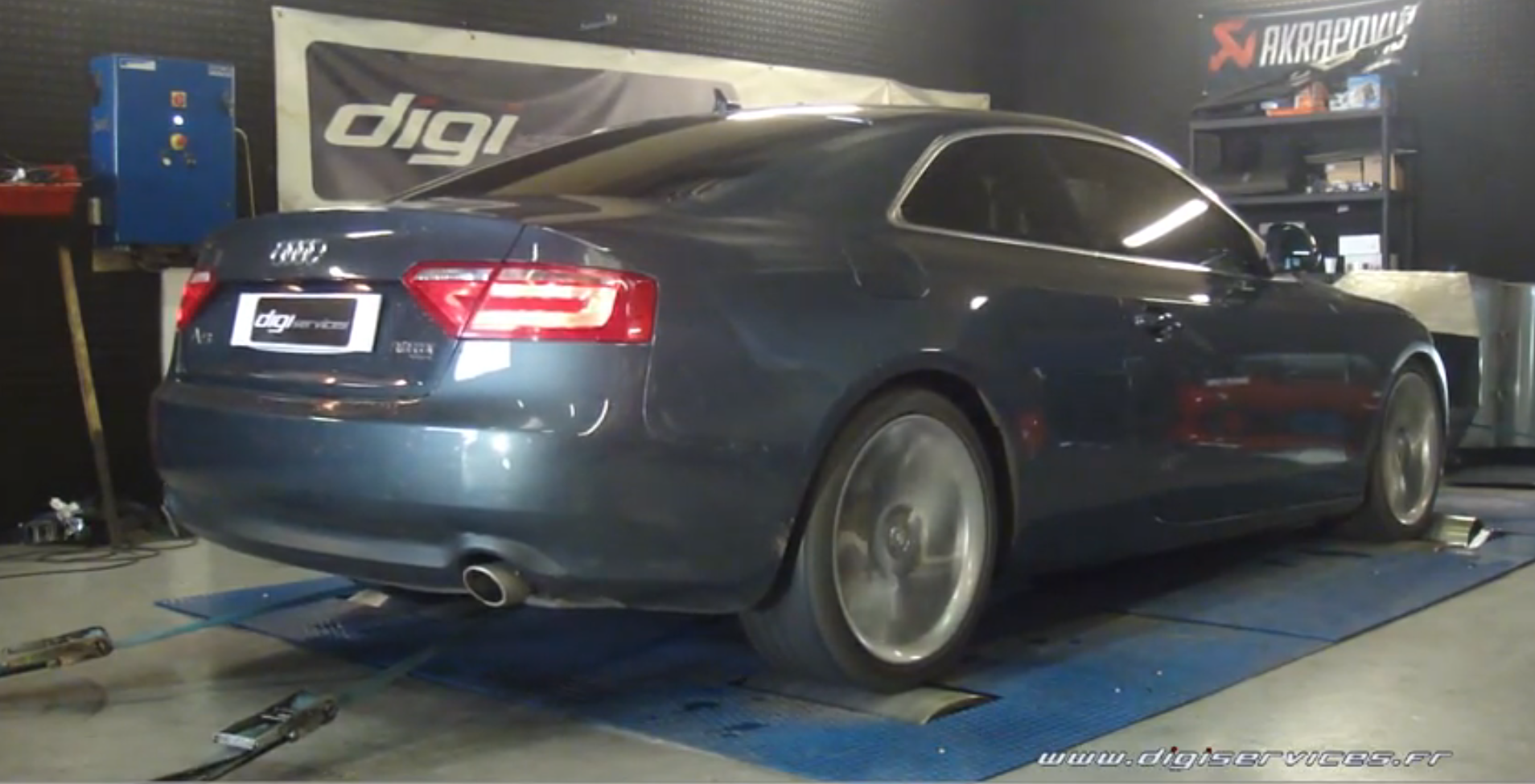 audi a5 3 0 tdi chip tuning over 300 hp by digiservices. Black Bedroom Furniture Sets. Home Design Ideas