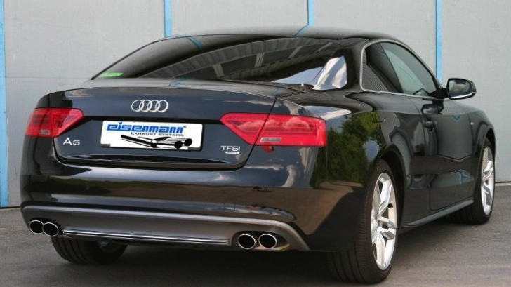 Audi A5 Gets Eisenmann Exhaust