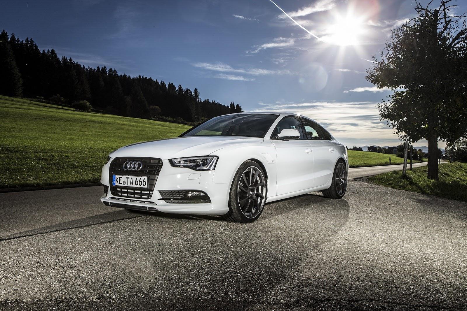 Audi A5 Sportback Facelift Becomes Abt As5 Sportback Autoevolution