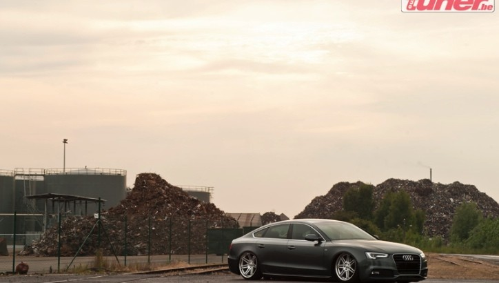 Audi A5 Sportback with Air Suspension and 22-inch Wheels Shines [Photo Gallery]